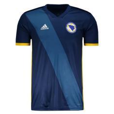 Camisa Torcedor Bósnia I 2018/19 Adidas