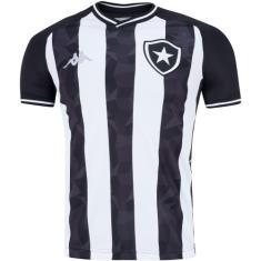 Camisa Torcedor Botafogo I 2019/20 Kappa