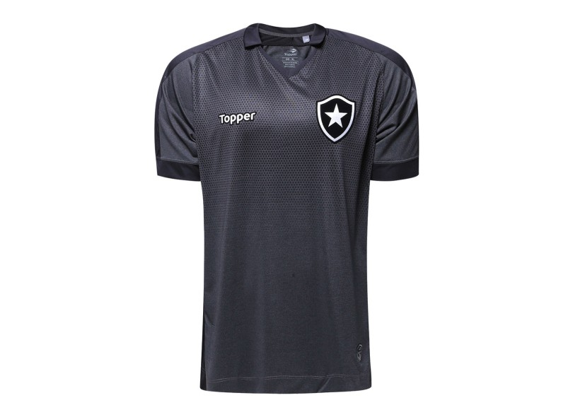 079c13881cdf0 Camisa Botafogo II 2017 18 Torcedor Masculino Topper