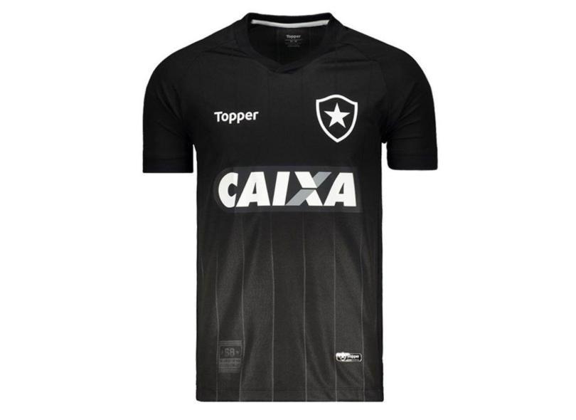 6a669dcca743a Camisa Botafogo II 2018 19 Torcedor Masculino Topper