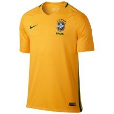 a4ee080a4923a Camisa Torcedor Brasil I 2016 sem Número Nike