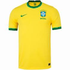 Camisa Torcedor Brasil I 2020/21 Nike