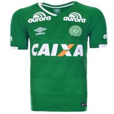 Camisa Torcedor Chapecoense I 2016 sem Número Umbro 8c9451bf64388