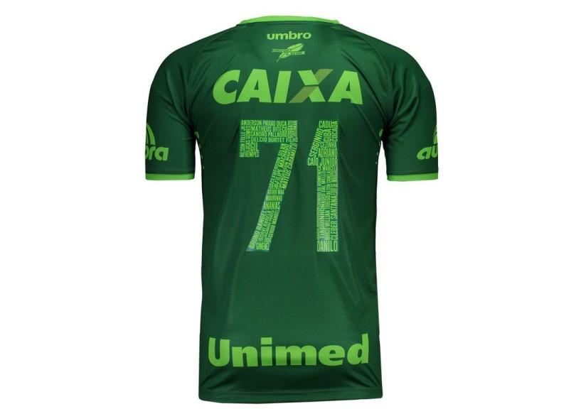 8a4e7aedc3 Camisa Chapecoense III 2016 17 Torcedor Masculino Umbro