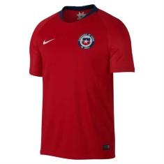 Camisa Torcedor Chile I 2018/19 sem Número Nike