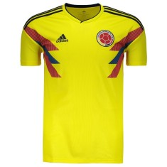 Camisa Torcedor Colômbia I 2018/19 Adidas