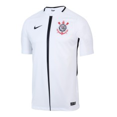 Camisa Torcedor Corinthians I 2017 18 Sem Número Nike f282929c69860