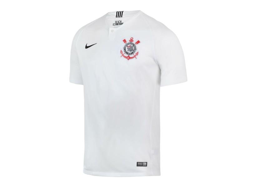 de2177fed2745 Camisa Corinthians I 2018 19 Torcedor Masculino Nike