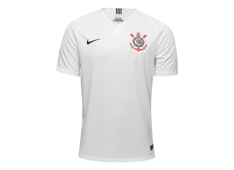 Camisa Corinthians I 2018 19 Torcedor Masculino Nike 3fab2b6aeb49c