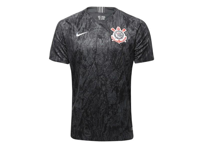 db113fe364 Camisa Corinthians II 2018 19 Torcedor Masculino Nike