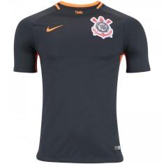 a5ef780a63 Camisa Torcedor Corinthians III 2017 18 Sem Número Nike
