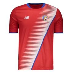 3d5ecf4e58 Camisas de Times de Futebol Costa Rica I - Primeiro Uniforme (Home ...