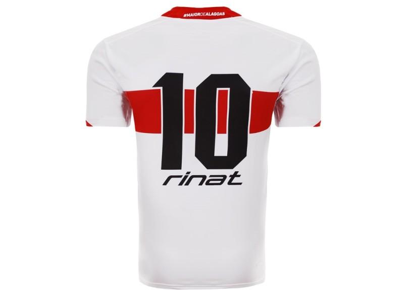 Camisa CRB I 2016 com Número Torcedor Masculino Rinat 632b348782fee
