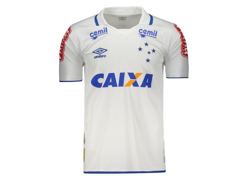 Camisa Cruzeiro II 2017 18 Sem Número Torcedor Masculino Umbro 41cbeb94c3f6c