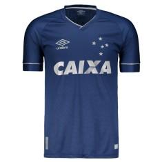 Camisa Torcedor Cruzeiro III 2017 18 Umbro 7c1982276b233