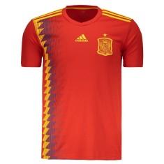 Camisa Torcedor Espanha I 2018/19 Adidas