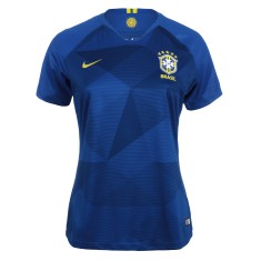 Camisa Torcedor Feminina Brasil II 2018 19 sem Número Nike 1c8c5ebed191a