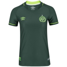Camisa Torcedor Feminina Chapecoense Libertadores 2017 Sem Número Umbro 93c9e81b35d7e