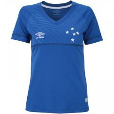 Camisa Torcedor Feminina Cruzeiro I 2018/19 Umbro