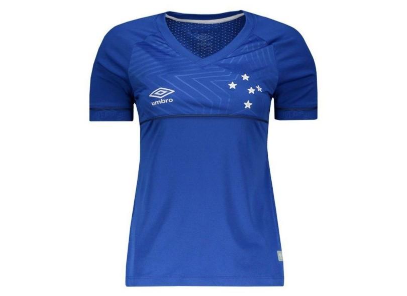 Camisa Feminina Cruzeiro I 2018 19 Torcedor Feminino Umbro 49c695752355e