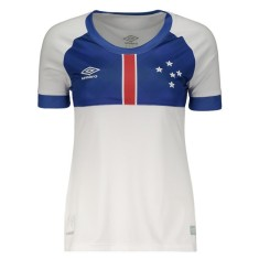 fa93a6fd3b Camisa Torcedor Feminina Cruzeiro II 2018 19 Umbro
