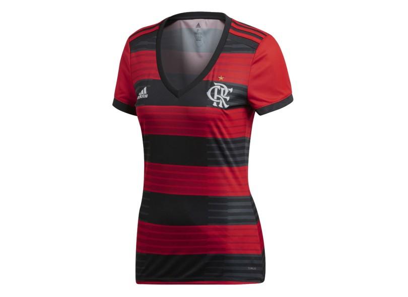788c620d4f Camisa Feminina Flamengo I 2018/19 Torcedor Feminino Adidas