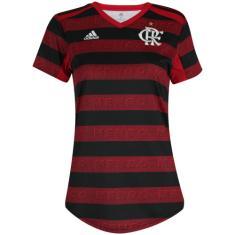 Camisa Torcedor Feminina Flamengo I 2019 Adidas
