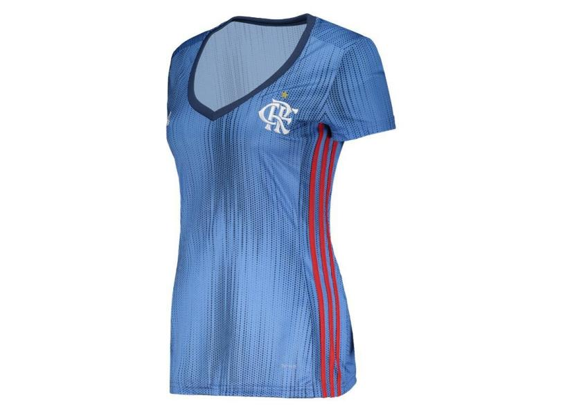 Camisa Feminina Flamengo III 2018 19 Torcedor Feminino Adidas 896a441eee9ce