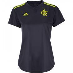 Camisa Torcedor Feminina Flamengo III 2019/20 Adidas