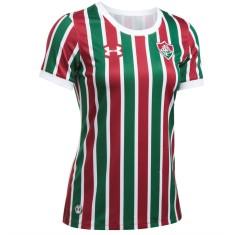 afba48086f Camisa Torcedor Feminina Fluminense I 2017 18 Sem Número Under Armour