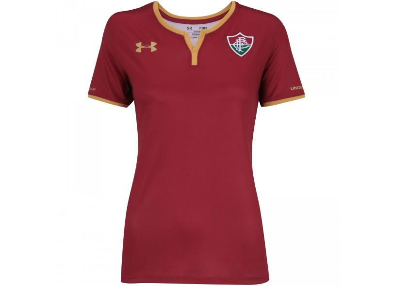 59b458b29c8d9c  Camisa Feminina Fluminense III 2017 18 Sem Número Torcedor  Feminino Under Armour 1eca6fbacbb0e0 cfc5150777b56