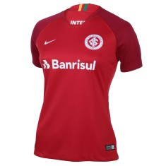 Camisa Torcedor Feminina Internacional I 2018/19 sem Número Nike