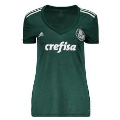 22ed016e23 Camisa Torcedor Feminina Palmeiras I 2018 19 Adidas