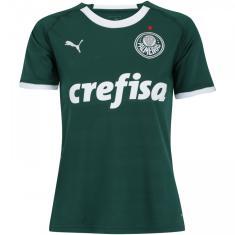 Camisa Torcedor Feminina Palmeiras I 2019 20 Puma e9a56faca5e64