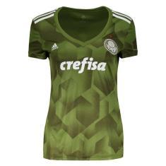 53c0eca480 Camisa Torcedor Feminina Palmeiras III 2018 19 Adidas