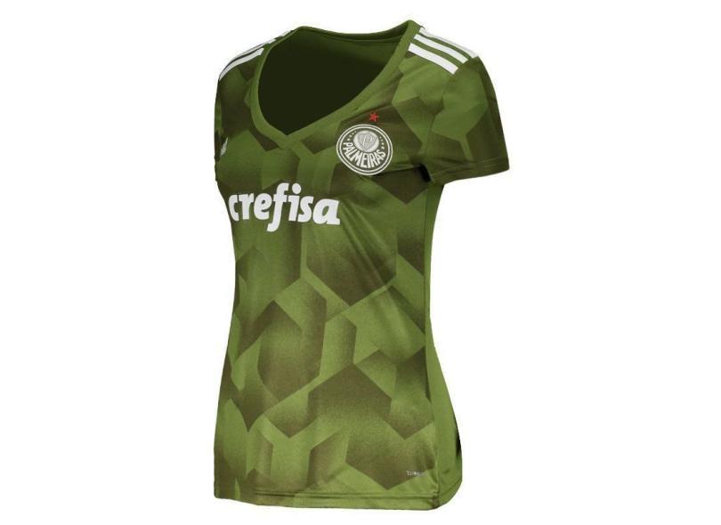 Camisa Feminina Palmeiras III 2018 19 Torcedor Feminino Adidas a3b100134b746