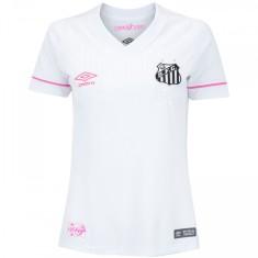 f7ba954a62 Camisa Torcedor Feminina Santos I 2018 19 sem Número Umbro