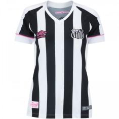 Camisa Torcedor Feminina Santos II 2018 19 Umbro 6bd302789f5e3