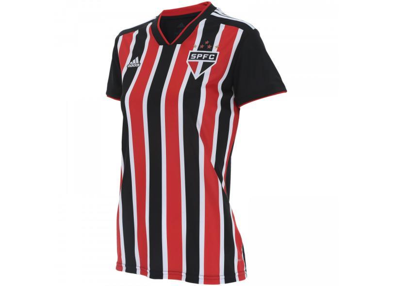 74e4c0847 Camisa Feminina São Paulo II 2018 19 Torcedor Feminino Adidas