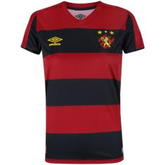 Camisa Torcedor Feminina Sport Recife I 2019/20 Umbro