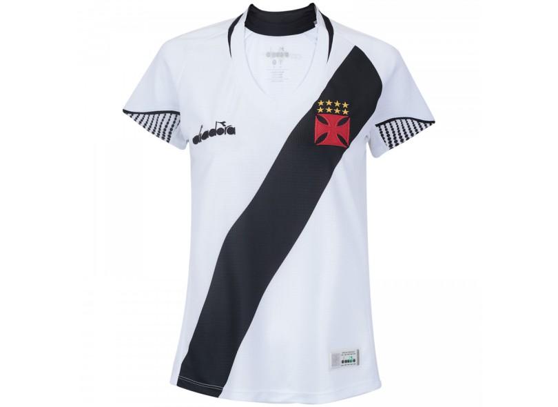 7dc9adcbbd Camisa Feminina Vasco da Gama II 2018 19 Torcedor Feminino Diadora
