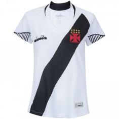 911210004c Camisa Torcedor Feminina Vasco da Gama II 2018 19 Diadora