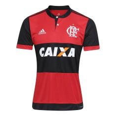 6145bfebe2 Camisa Torcedor Flamengo I 2017 18 com Nome e Número Adidas