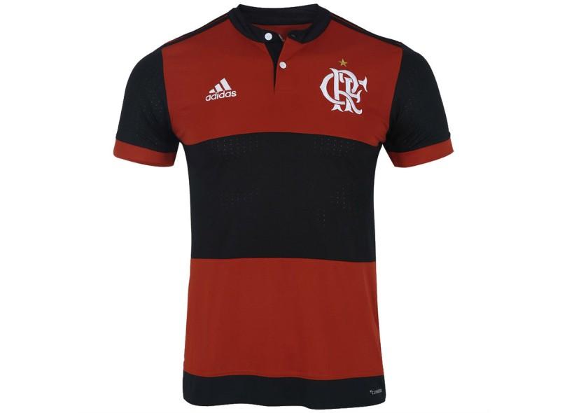 1a5c64fae868e Camisa Flamengo I 2017 18 Sem Número Torcedor Masculino Adidas