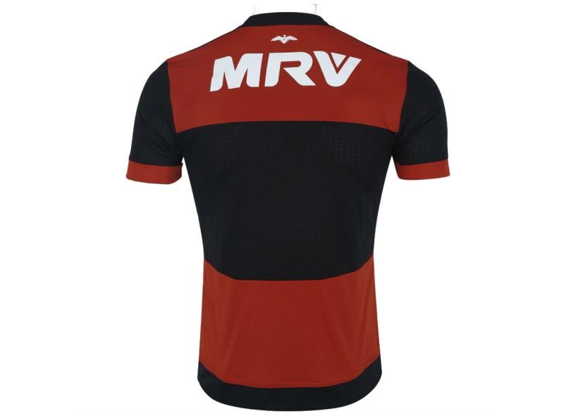 Camisa Flamengo I 2017 18 Sem Número Torcedor Masculino Adidas 90b46b1ea2ebf