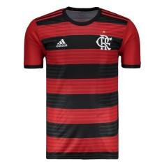 afc596c3f8 Camisa Torcedor Flamengo I 2018 19 Adidas