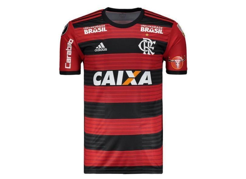 e611363fc46 Camisa Flamengo I 2018 19 Torcedor Masculino Adidas
