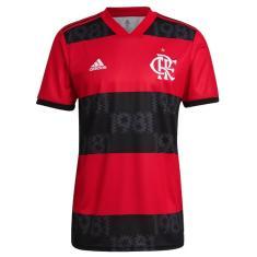 Camisa Torcedor Flamengo I 2021/22 Adidas