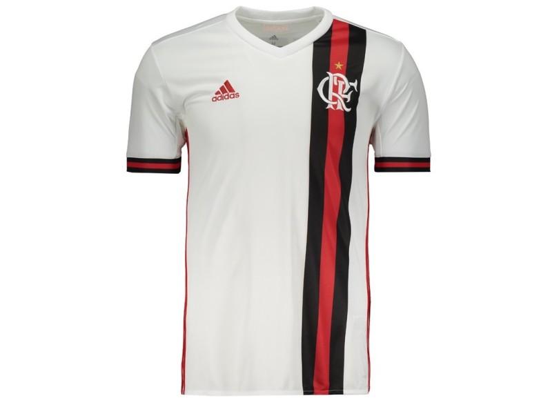 Camisa Flamengo II 2017 18 Torcedor Masculino Adidas bbe3ebc1565d0