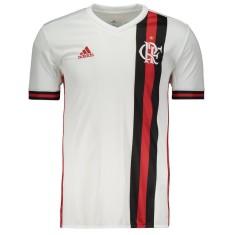 Camisa Torcedor Flamengo II 2017 18 Adidas 5e96cb5232c